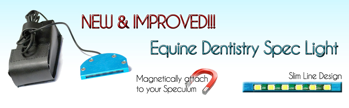 equine dental speculum light horse dentistry