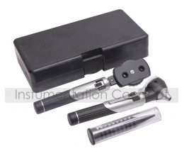 Veterinary Otoscope & Ophthalmoscope Set Fibre Glass & Alluminium