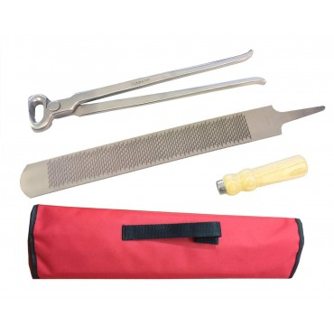 Farrier Kit Hoof Nipper and Hoof Rasp
