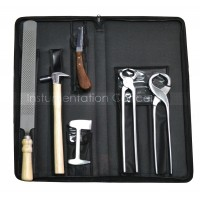 Farrier Hoof Kit Stainless Steel