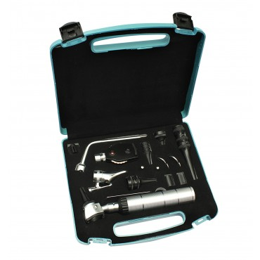 EENT Veterinary Otoscope Ophthalmoscope Nasal Larynx Diagnostic Set